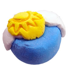 In The Clouds Bubble Bar