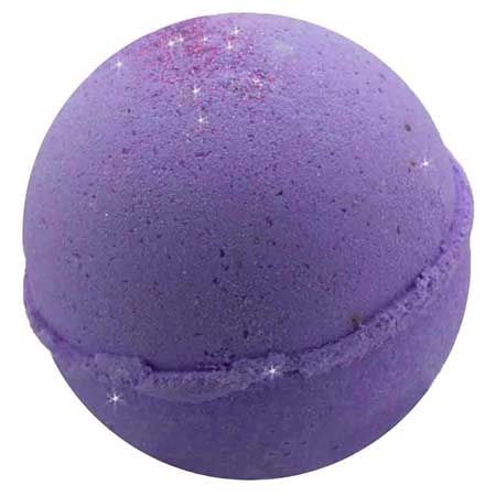 Purple Mascara Bath Bomb Fizzy